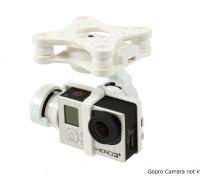 GH3-3D 3 ejes cardán de la cámara (Blanco)