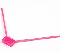 Turnigy 2.4G antena de montaje para competir con aviones no tripulados (rosa)