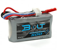 Turnigy Perno 500mAh 3S 11.4V 65 ~ 130C alto voltaje Lipo Pack (LiHV)