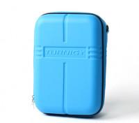 Transmisor Turnigy caso w / FPV anteojos de almacenamiento - Azul