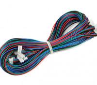 Impresora Print-Rite DIY 3D - Mazo de cables