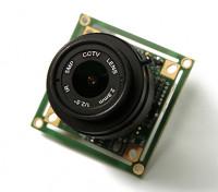 QUANUM 700TVL SONY CCD 1/3 de la lente de la cámara 2.8mm (PAL)