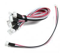 20cm JST-XH 3S Cable de extensión (10pcs / bag)