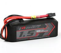 El grafeno Turnigy 1500mAh 65C Lipo 4S paquete w / XT60