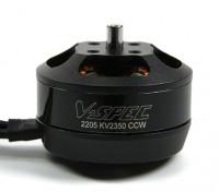 MultiStar V-Spec 2205 - 2350KV Multi-rotor del motor (CCW) (.15LAM)