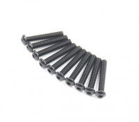 Ronda de metal Machine Head Tornillo hexagonal M2.6x16-10pcs / set