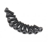 Zócalo de metal Machine Head Tornillo hexagonal M2.6x6-10pcs / set