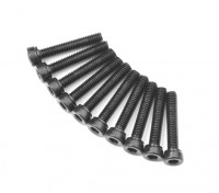 Zócalo de metal Machine Head Tornillo hexagonal M2.6x14-10pcs / set
