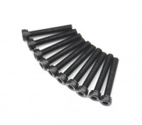 Zócalo de metal Machine Head Tornillo hexagonal M2.6x16-10pcs / set