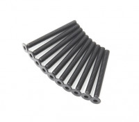 Plano del metal Machine Head Tornillo hexagonal M3x32-10pcs / set