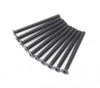 Plano del metal Machine Head Tornillo hexagonal M3x36-10pcs / set