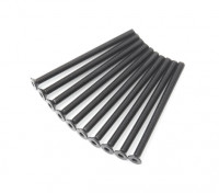 Plano del metal Machine Head Tornillo hexagonal M3x45-10pcs / set