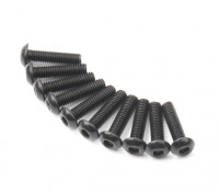 Ronda de metal Machine Head Tornillo hexagonal M3x12-10pcs / set