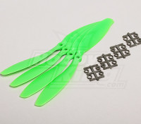 GWS Estilo Slowfly hélice 9x4.7 Verde (CCW) (4pcs)