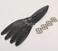 GWS Estilo Slowfly hélice 11x4.7 Negro (CW) (4pcs)