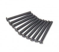 Ronda de metal Machine Head Tornillo hexagonal M3x26-10pcs / set