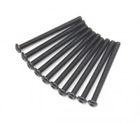 Ronda de metal Machine Head Tornillo hexagonal M3x36-10pcs / set
