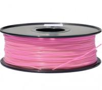 HobbyKing 3D Filamento impresora 1.75mm PLA 1kg Carrete (rosa)