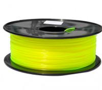 HobbyKing 3D Filamento impresora 1.75mm PLA 1kg Carrete (amarillo traslúcido)