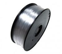 HobbyKing 3D Filamento Impresora 1,75 mm de policarbonato o PC 1kg Carrete (transparente)