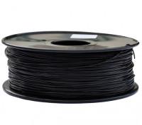HobbyKing 3D Filamento impresora 1.75mm PETG 1.0kg Carrete (Negro)
