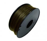 HobbyKing 3D Filamento impresora 1.75mm metal compuesto de 0,5 kg de cola (Bronce)