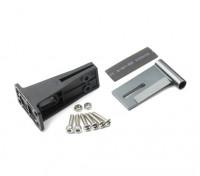 HydroPro Inception Regatas - CNC de aleación de aluminio trasero del eje de montaje y soporte Conjunto de plástico