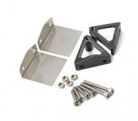 HydroPro Inception Regatas - CNC aleación de aluminio de la lengüeta del ajuste del montaje del sistema w / Alerones