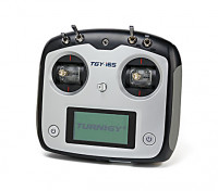 Sistema Turnigy TGY-i6S digital proporcional del control de radio (Modo 2) (Negro)