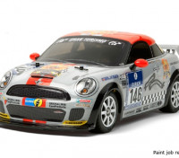 Tamiya 1/10 Escala Mini JCW Coupe Kit w / M-05 Chasis Kit 58520