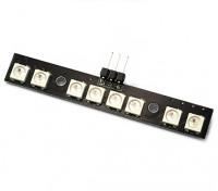 Matek RGB LED 8 WS2812B w / MCU modos dual