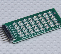 Indicador de voltaje de Equilibrio LED 2-6S