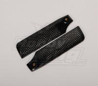 107 mm de fibra de carbono lámina de la cola
