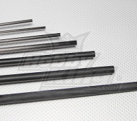 Tubo de fibra de carbono (hueco) 12x750mm