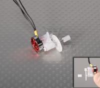 El sistema de alimentación micro w / caja de cambios GPS-C03