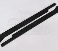 325mm de plástico láminas principales de 4 Jefe de la lámina (1 par)