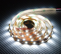 Turnigy alta densidad R / C LED tira flexible-White (1mtr)