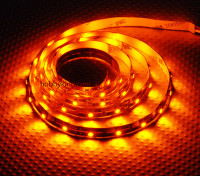 Alta Densidad R / C LED tira flexible-amarillo (1mtr)