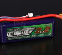 Turnigy nano-tech 2200mah 3S 35 ~ 70C Lipo Pack de