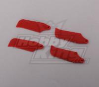 450 Tamaño Heli Red lámina de la cola (2pairs)