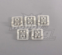 Montaje servo (5pcs / bolsa) para Mini servo 9g, hasta 24mm