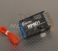 36 MHz Corona Sintetizado Dual-Conv receptor 9Ch
