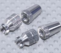 Aleación antideslizante TX Control de palos cortos (Futaba TX)