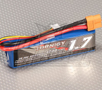 Turnigy 1700mAh 20C Lipo 2S Paquete (los juegos de 1/16 de Monster Beatle, SCT y Buggy)