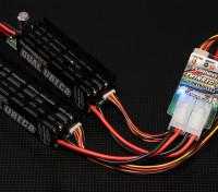 Sistema de alimentación redundante dual Rx Turnigy 8A UBEC