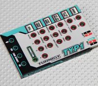Tarjeta de programación Turnigy TY-P1 25Amp sin escobillas CES