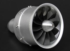 Aleación DPS Serie 90 mm 12-Hoja del FED unidad con 1000kV Motor - 4000watt (10s)