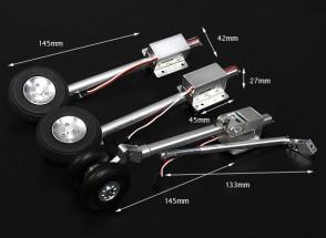 Turnigy Full Metal SU37 Estilo Gran Escala Servoless retracción con las piernas Oleo