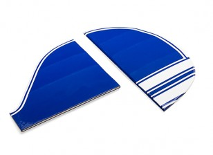 Kingcraft Pitts Special S-2B 1200mm Replacement Fin and Rudder Set