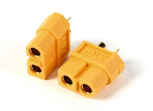 Conectores hembra XT60 (5pcs / bolsa) GENUINO